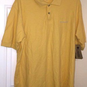 Columbia ibex Polo / Rugby Shirt Men's Size M New